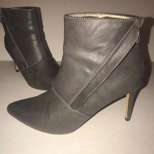 Grey/Olive Michael Antonio stiletto ankle boot